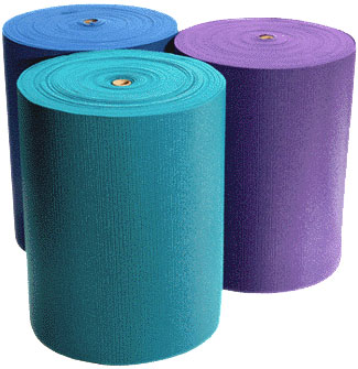 1/4'' Extra Thick Deluxe Yoga Mat Roll (105 feet)