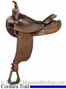 15inch 16inch Big Horn Cordura Saddle FQHB