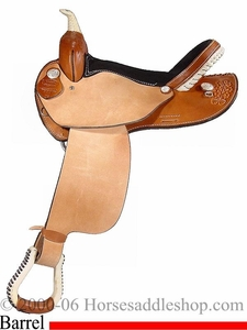 15inch 16inch Dakota Barrel Racing Saddle Reg Bars or FQHB