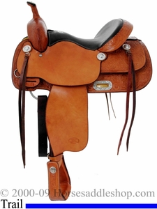 15inch Trail Saddle_ Billy Cook