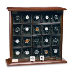20-Module Briarwood Watch Winder - Rotobox by Underwood
