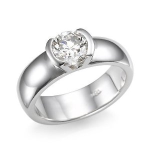 3.33 cttw, D Color, IF Clarity Solitaire Diamond Engagement Ring