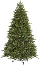 7 Foot, DuraLit Realistic Christmas Tree Hawthorne Instant Shape