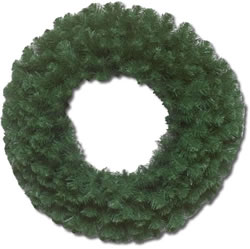 8.33 Foot, Unlit Artificial Christmas Wreath, Douglas Fir
