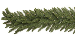 9 Foot 14 Inch Dura-Lit Artificial Christmas Garland, Camdon Fir