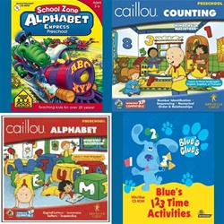 ABCs and 123s Skill Builders 4-pack