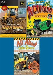 Action Packed John Deere 3-DVD set