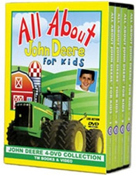 All About John Deere 4 DVD Boxed Set DVD