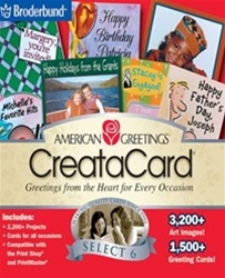 American Greetings Creatacard Select 6 - CD