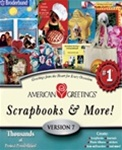 American Greetings Scrapbooks & More! 7 - CD - Software