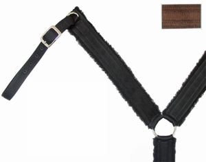 Big Horn Nylon/Fleece Breast Collar