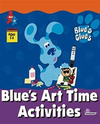 Blues Clues - Blues Art Time Activities - CD