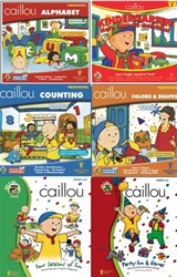Caillou Learning & Fun 6-pack