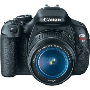 Canon EOS Rebel T3i 18 MP CMOS Digital SLR Camera and DIGIC