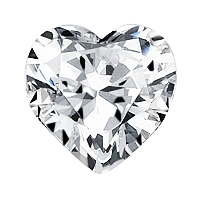 GIA Certified Heart Shaped Loose Diamond (1.19 Carats, I Color)