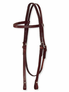 Circle Y Basketweave Headstall