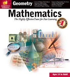 Comptons Learning™ Mathematics Geometry - CD - Software