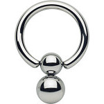 Double Ball Closure Pendulum Captive Bead Ring
