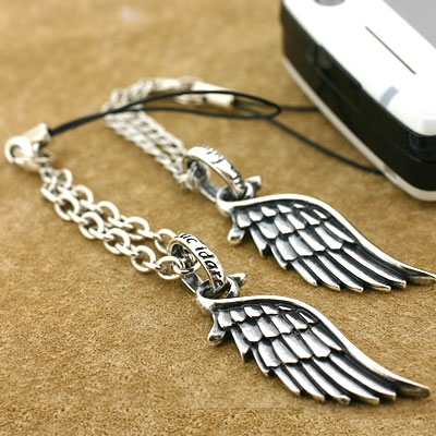 [FARE] Just for you and me Pair of Wing Jewelry Cell Phone Strap