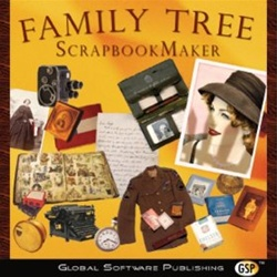 Family Tree Scrapbook Maker CD