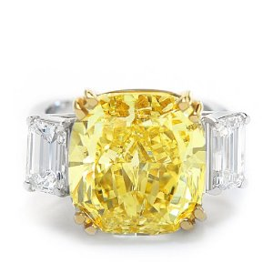 Fancy Yellow Diamond Ring (12 ct. tw.)