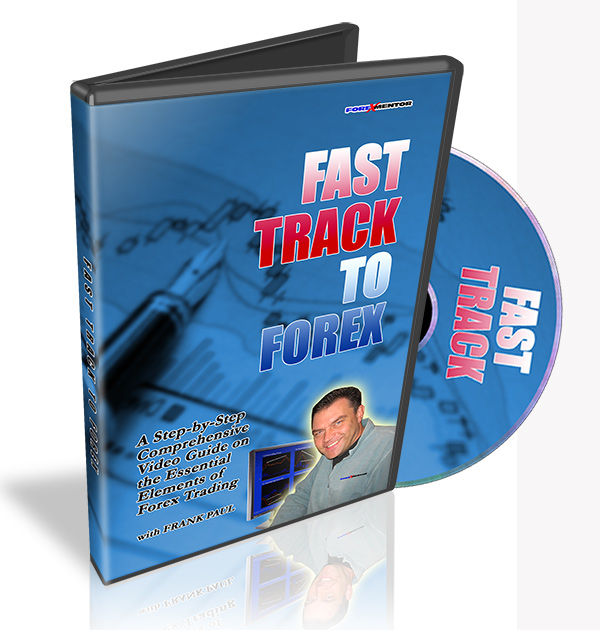 Fast Track To Forex by Frank Paul (DVD)