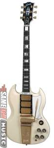 Gibson Historic SG Custom Reissue Electric Guitar with Maestro