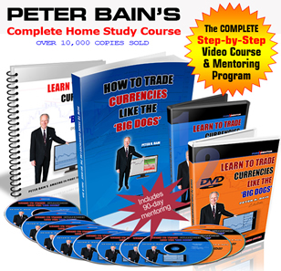 How To Trade Currencies Like The Big Dogs by Peter Bain (DVD)