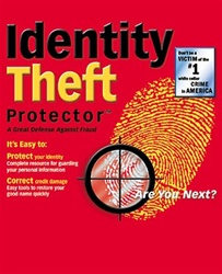 Identity Theft Protector - CD - Software