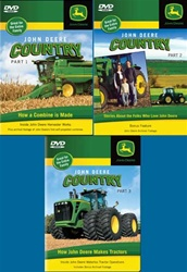 John Deere Country 3-DVD set