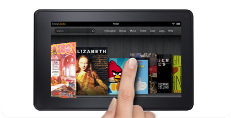 Kindle Fire - Amazon Tablet with Full Color & Multi-Touch