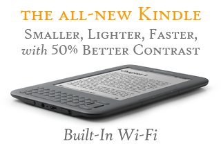 "Kindle Wireless Reading Device, Wi-Fi, Graphite, 6"" Display"