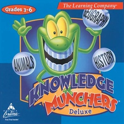Knowledge Munchers Deluxe - CD