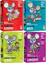 Mias Reading Math Science & Language 4-pack