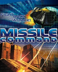 Missile Command - Software - Jewel Case