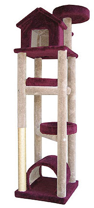 Molly & Friends Premium Handmade Skyscrapper. Cat Tower
