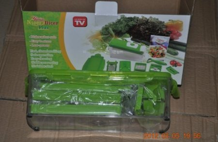 As Seen On TV Wholesale Nicer dicer plus 10-piece Multi-Chopper