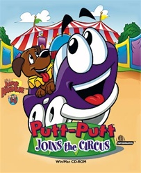 Putt-Putt Joins The Circus - CD - Software