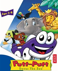 Putt-Putt Saves The Zoo - Jewel Case - Software