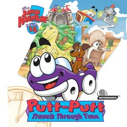 Putt-Putt Travels Through Time - CD
