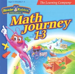 Reader Rabbit Presents Math Journey for Grades 1-3 - CD