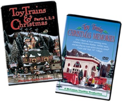 Toy Trains & Christmas & Toy Train Christmas Memories
