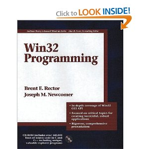 Win32 Programming (Addison-Wesley Advanced Windows Series)