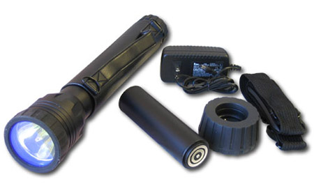 24W HID Ultra High Power Rechargeable Flashlight