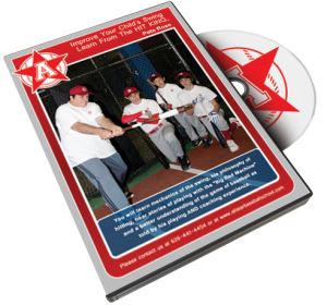 Improve Your Child's Baseball Swing From Pete Rose Dvd!