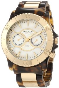 Anne Klein New York Women's Gold-Tone Bracelet Watch