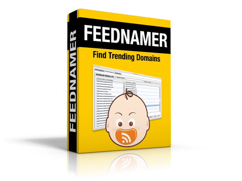 FeedNamer Domain Software Finds Hot Available Domains