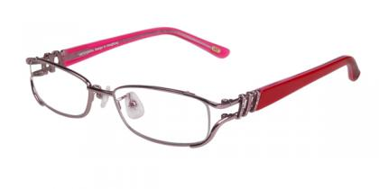Ashley - Pink - Metal Eyeglasses