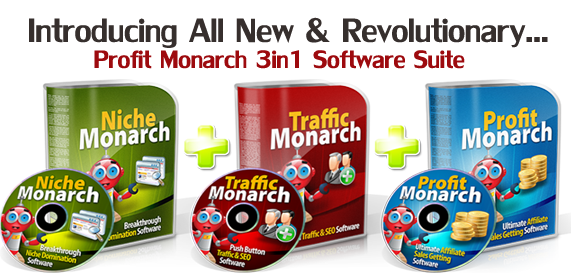Profit Monarch – Traffic & Niche Domination Software