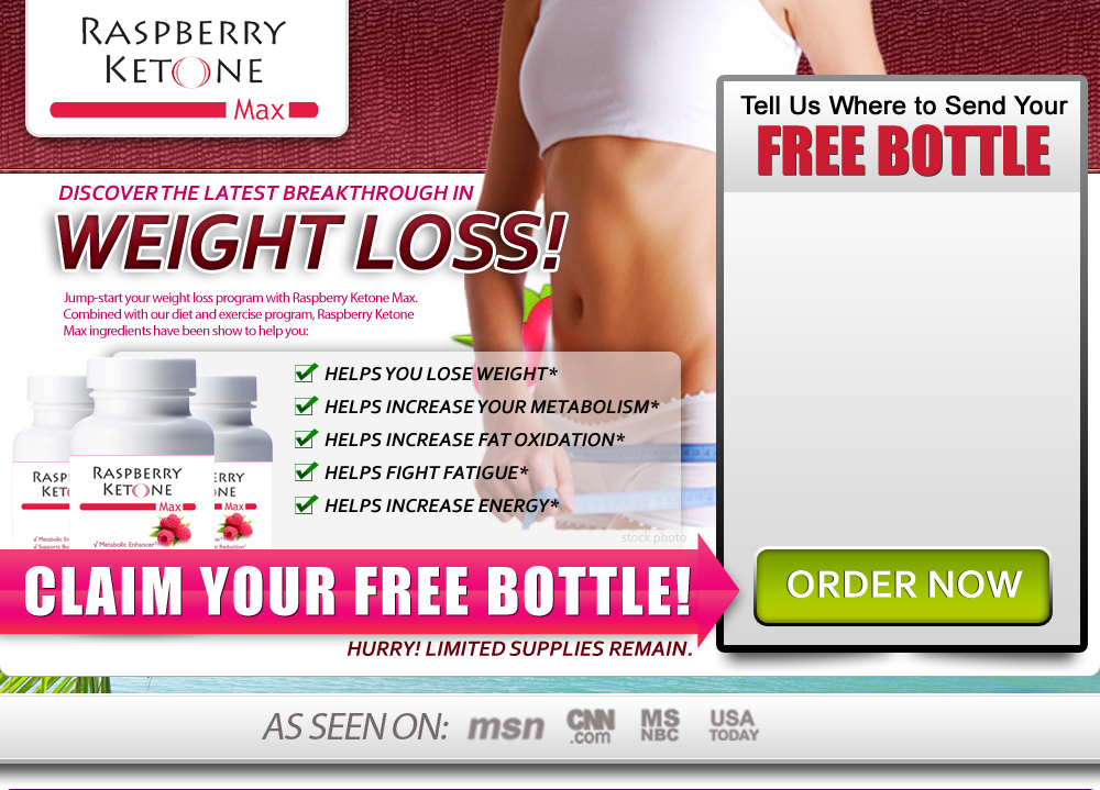Raspberry Ketones Max - Latest Breakthrough in Weight Loss
